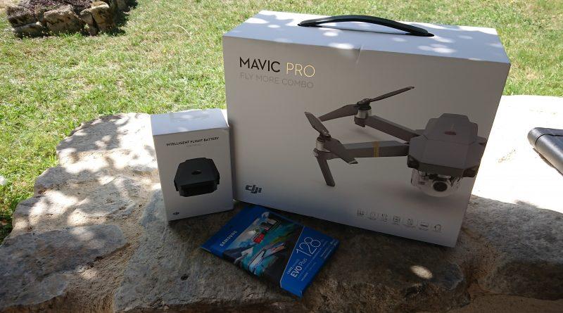 Investissement dans un Drone DJI MAVIC PRO